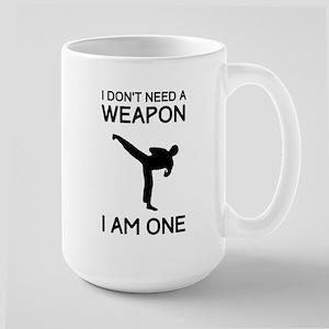 Don't need weapon I am one Mugs