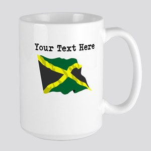 Custom Jamaica Flag Mugs