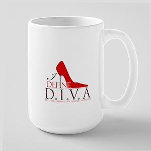 I Define D.I.V.A. Stainless Steel Travel Mugs