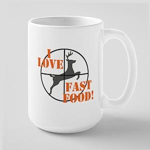 I Love Fast Food Mugs