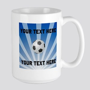 Personalized Soccer Large Mug