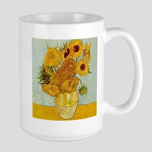Vincent Van Gogh Sunflower Painting Mugs