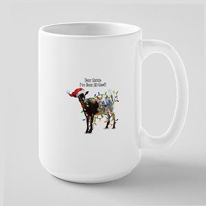 Christmas Goat I've Been So Good Mugs