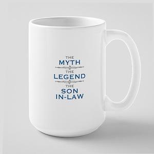Myth Legend Son-In-Law Mugs