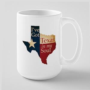 Texas in my Soul Mugs