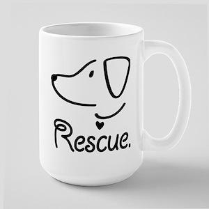 Rescue Dog Mug Mugs