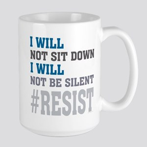 I WILL NOT BE SILENT Stainless Steel Travel Mugs