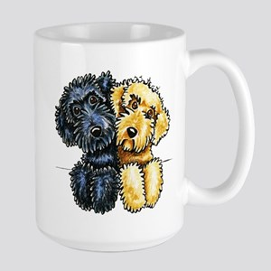 Labradoodles Lined Up Mugs