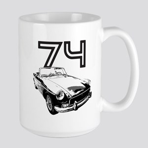 1974 MG Midget Large Mug