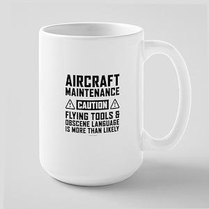 Aircraft Maintenance Caution Mugs