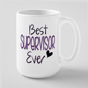 Speech Supervisor Large Mug Mugs