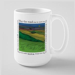 May the Road Rise Up... Large Mug