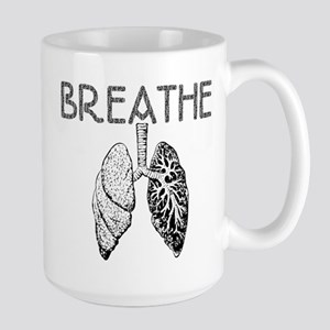 Breathe Large Mug