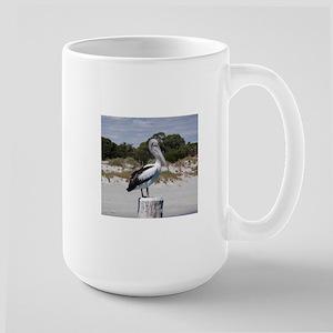 Pelican Standing on Watch Mugs