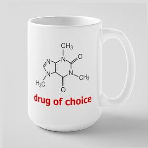 Drug of Choice Large Mug