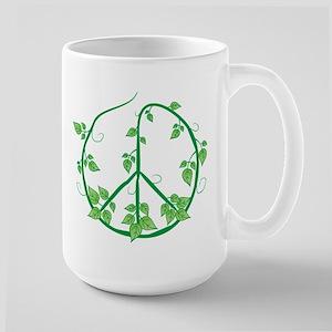 Green Peace Large Mug