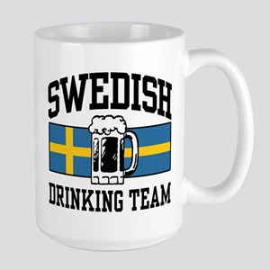 Swedish Drinking Team Large Mug