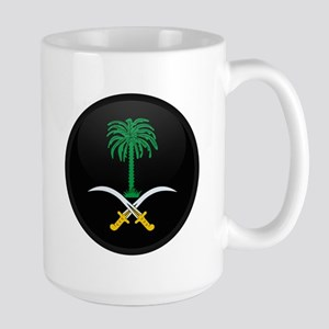 Coat of Arms of Saudi Arabia Large Mug