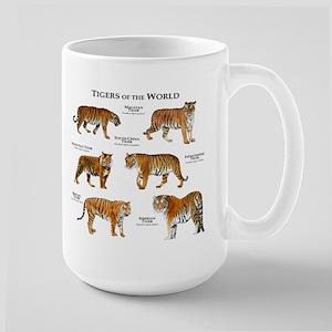 Tigers of the World Large Mug
