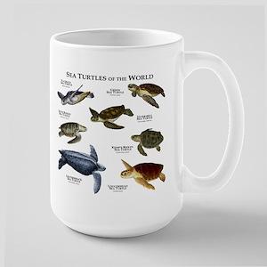 Sea Turtles of the World Large Mug