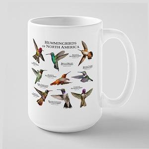 Hummingbirds of North America Large Mug