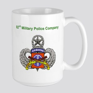 82nd MP Company Large Mug