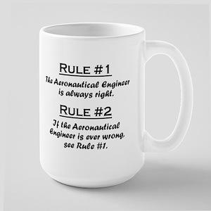 Aeronautical Engineer Large Mug