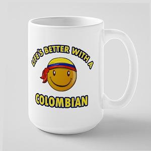 Life's better with a Columbian Large Mug