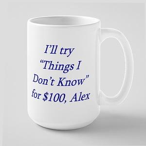 Things I dont know Large Mug