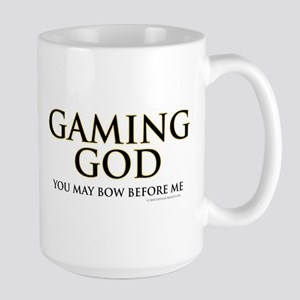 Gaming God Large Mug