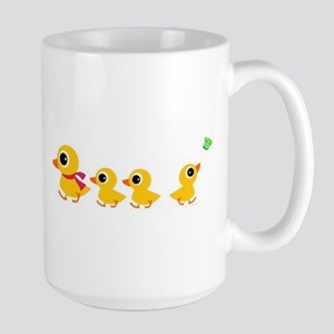 The distracted Duck Large Mug