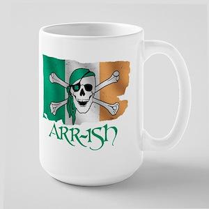 Arr-ish Pirate Large Mug