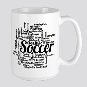 Soccer Word Cloud Mugs