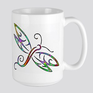 Colorful dragonfly Mugs