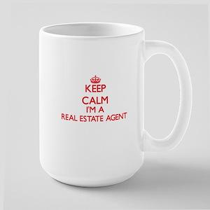 Keep calm I'm a Real Estate Agent Mugs