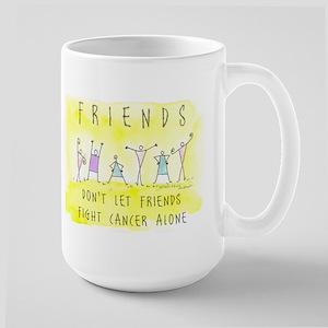 Cancer Friends Large Mug