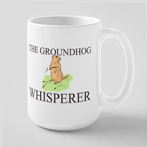 The Groundhog Whisperer Large Mug