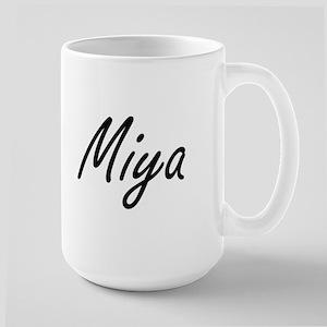 Miya artistic Name Design Mugs