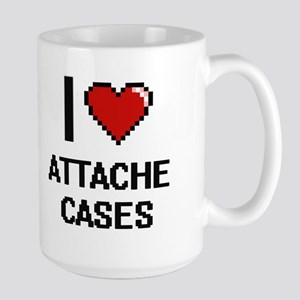 I Love Attache Cases Digitial Design Mugs