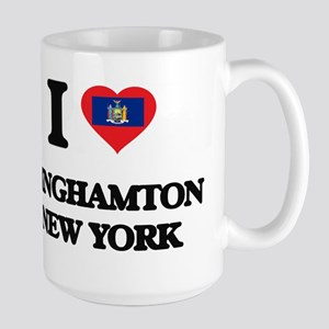 I love Binghamton New York Mugs