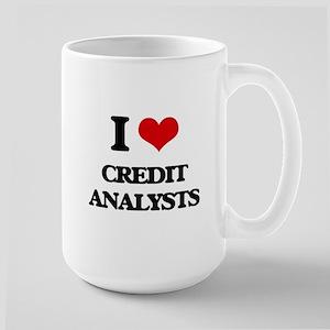 I love Credit Analysts Mugs