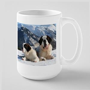 saint bernard group Mugs
