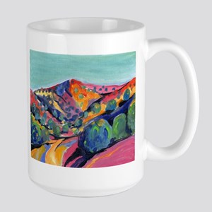 New Mexico Landscape Oil Painting Mugs