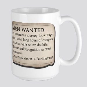 Shackleton Antarctica - Large Mug