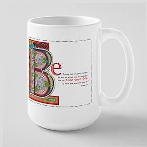 Joshua 1:9 Large Mug