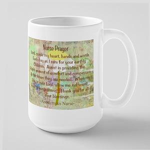 Nurse Prayer Blanket Size Yellow Large Mug