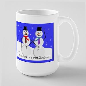 Gay Men Snowmen 2 Mugs