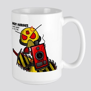 Angry Marines Large Mug