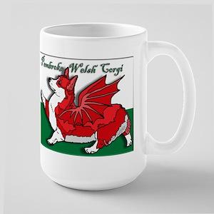 The Red Corgon! - Large Mug