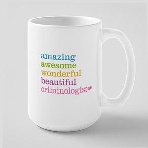 Criminologist Large Mug